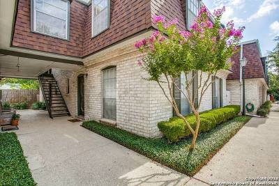 San Antonio TX Condo/Townhouse Back on Market: $90,000
