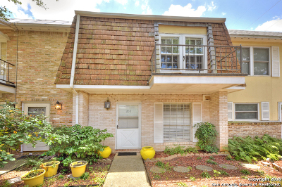 San Antonio Condo/Townhouse Back on Market: 6718 Callaghan Rd #203