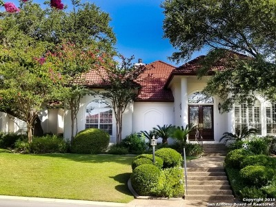 San Antonio TX Single Family Home For Sale: $599,000