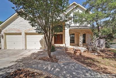 San Antonio Single Family Home Price Change: 18735 Crosstimber