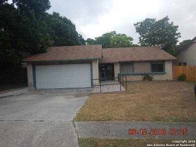 Single Family Home For Sale: 16306 Puma Pass St