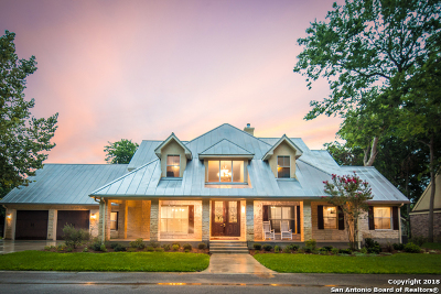 New Braunfels Single Family Home For Sale: 519 Vista Del Rio