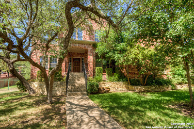 San Antonio Single Family Home For Sale: 20914 Cactus Ridge