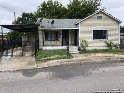 San Antonio Single Family Home For Sale: 1021 S Cherry St