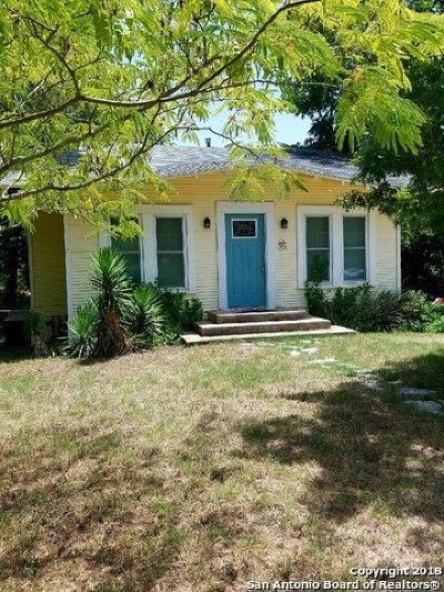 New Braunfels Single Family Home For Sale: 442 Napoleon St