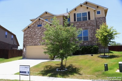 Schertz Single Family Home Back on Market: 3100 Wolf Run