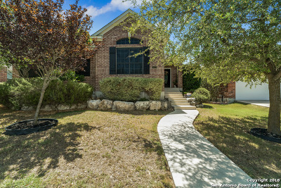 San Antonio Single Family Home Price Change: 26223 Lookout Falls