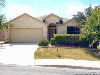 San Antonio Single Family Home For Sale: 25623 Bottle Brush