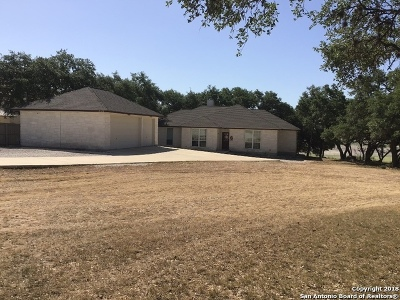 Bandera Single Family Home Price Change: 445 Pr 1524