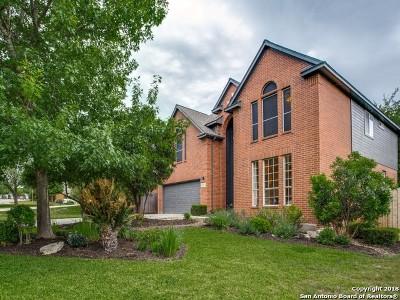 San Antonio Single Family Home Price Change: 21514 Bubbling Creek