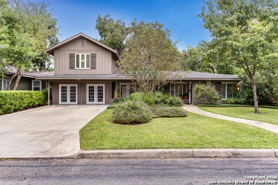 San Antonio Single Family Home For Sale: 207 Northridge Dr