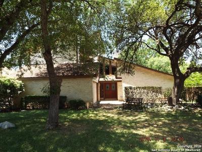 San Antonio Single Family Home For Sale: 16707 Canyon Ledge St