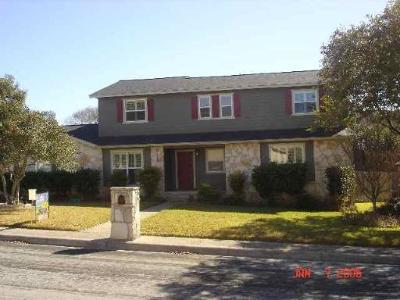 San Antonio Single Family Home For Sale: 2122 Oak Bend