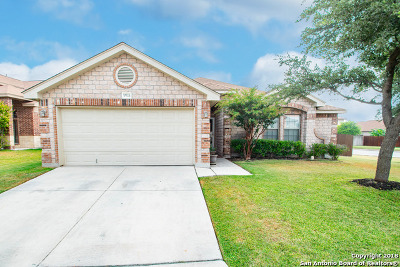Helotes Single Family Home Price Change: 9903 Amberg Path