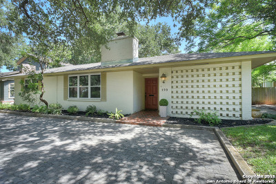 Alamo Heights Rental For Rent: 170 Claywell Dr