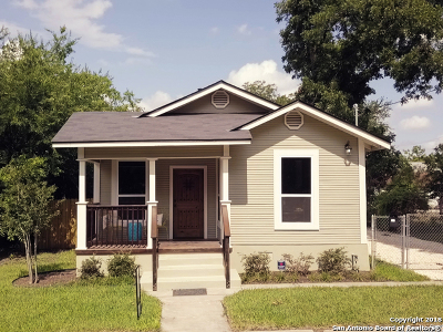 Bexar County Single Family Home For Sale: 1019 Rogers Ave