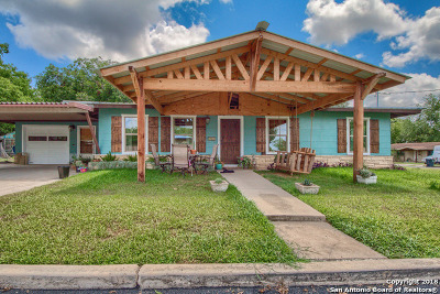 New Braunfels Single Family Home Price Change: 1383 Unicorn Ave