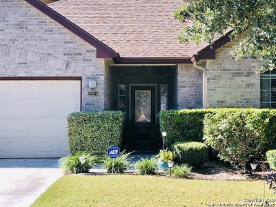 San Antonio Single Family Home New: 22215 Lavaca Creek