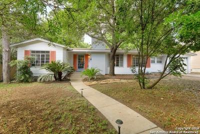 Alamo Heights TX Single Family Home For Sale: $374,900
