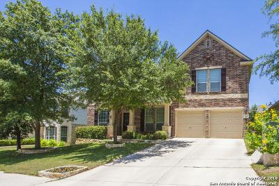 San Antonio Single Family Home Price Change: 3519 Valencia Peak