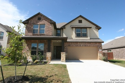 Cibolo Single Family Home New: 716 Saddle Canyon