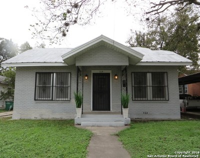 San Antonio Single Family Home Back on Market: 514 Canton
