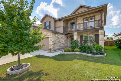 Cibolo Single Family Home Price Change: 320 Morgan Run