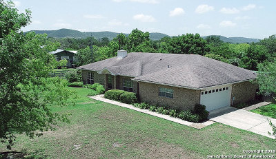 Bandera County Single Family Home For Sale: 370 San Julian Creek Rd