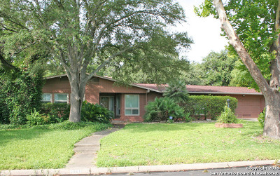 San Antonio Single Family Home For Sale: 1511 Haskin Dr