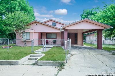 San Antonio Single Family Home For Sale: 259 Tedder St