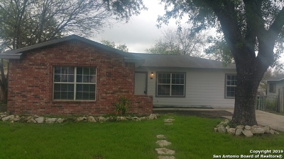 San Antonio Single Family Home For Sale: 514 Demya Dr