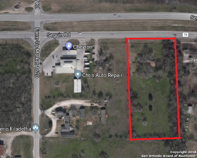 Seguin Residential Lots & Land For Sale: 2861 Fm 78