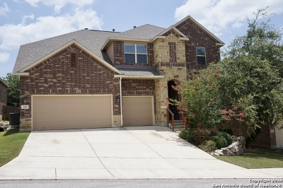 San Antonio Single Family Home Price Change: 3418 Marlark Pass