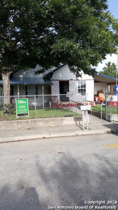 San Antonio Single Family Home Back on Market: 306 Carolyn St