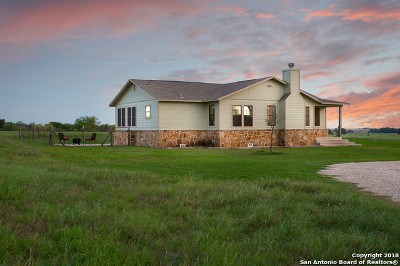Floresville Single Family Home New: 4354 Fm 537