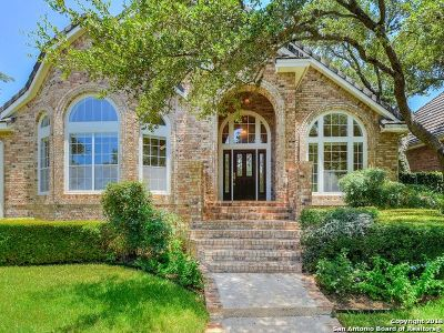 San Antonio TX Single Family Home Price Change: $410,000