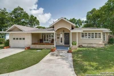San Antonio Single Family Home New: 643 Robinhood Pl