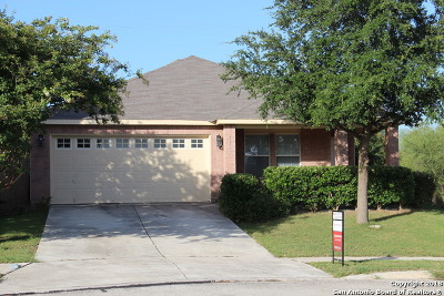 Cibolo Single Family Home New: 217 Blue Willow