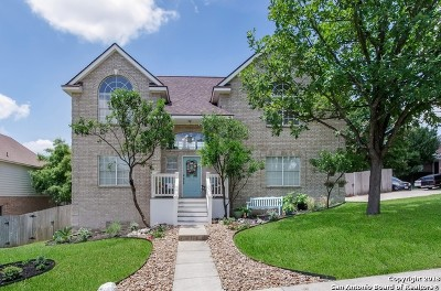 San Antonio Single Family Home New: 1214 Crooked Arrow