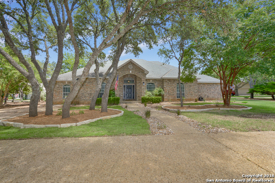 Bexar County, Kendall County Single Family Home Active RFR: 29606 No Le Hace Dr