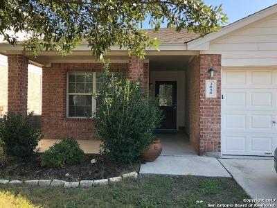 San Antonio Single Family Home New: 3858 Bennington Way