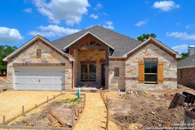 Boerne Single Family Home New: 130 Cordova
