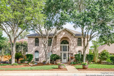 San Antonio Single Family Home New: 711 Arch Stone