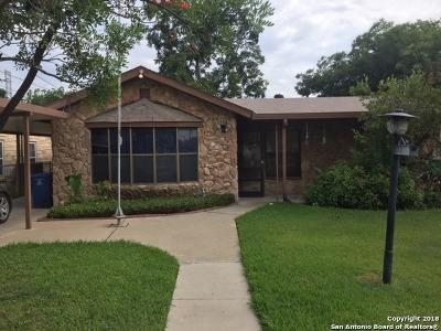 San Antonio Single Family Home New: 4911 Irma Ave