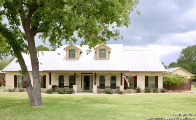 La Vernia Single Family Home New: 197 Vintage Ranch Circle
