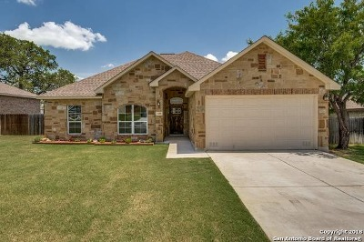 Floresville Single Family Home New: 129 Parkcrest