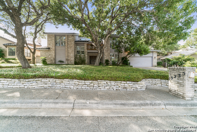 San Antonio Single Family Home New: 13235 Hunters View St
