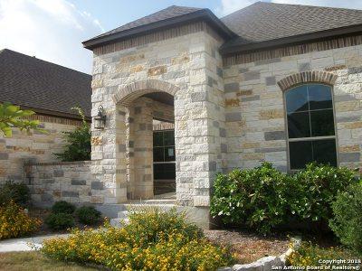 San Antonio Single Family Home New: 9622 Aviara Golf