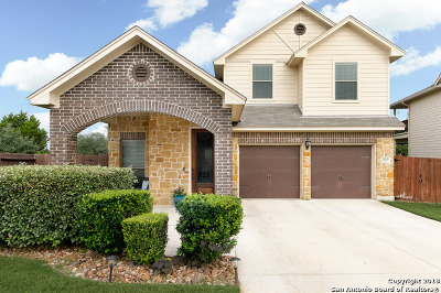 San Antonio Single Family Home New: 21603 Seminole Oaks