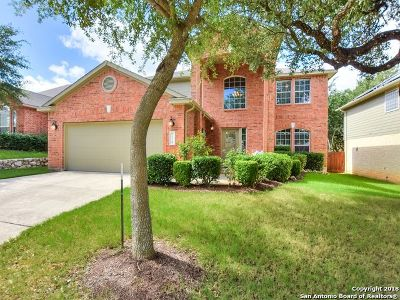 Boerne Single Family Home New: 7614 Mission Ledge